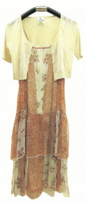 L'ess Simone dress and L'ess cardigan from Noa Noa at Arthur Barnett.