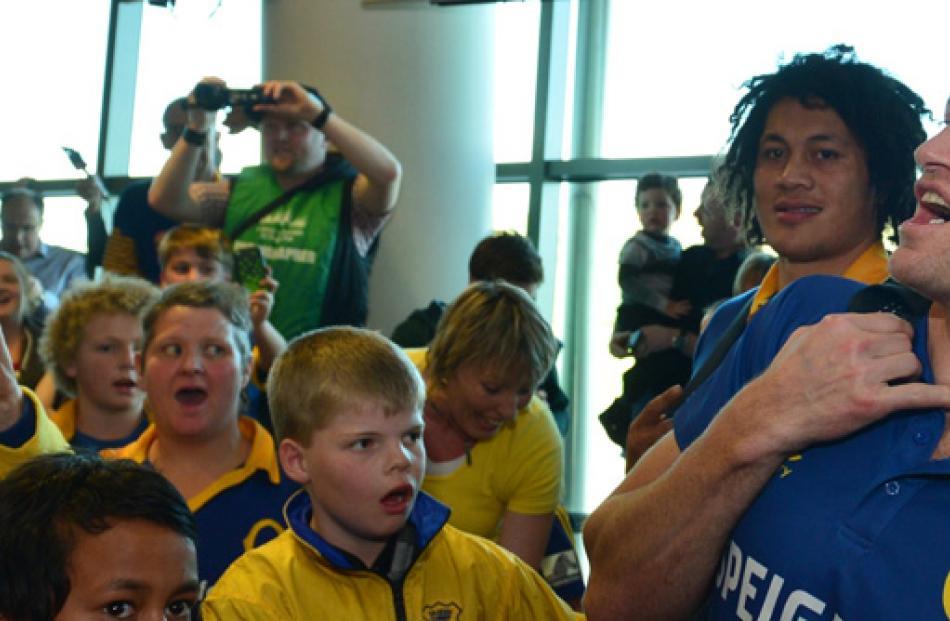 Otago coach Tony Brown.