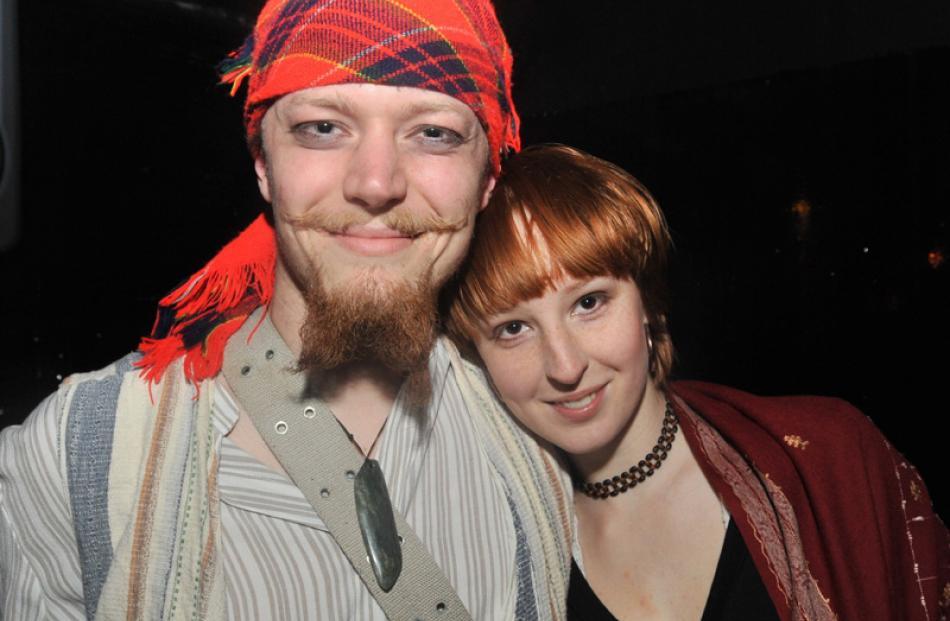 Leon Deverick and Sarahmarie Innes, both of Dunedin.