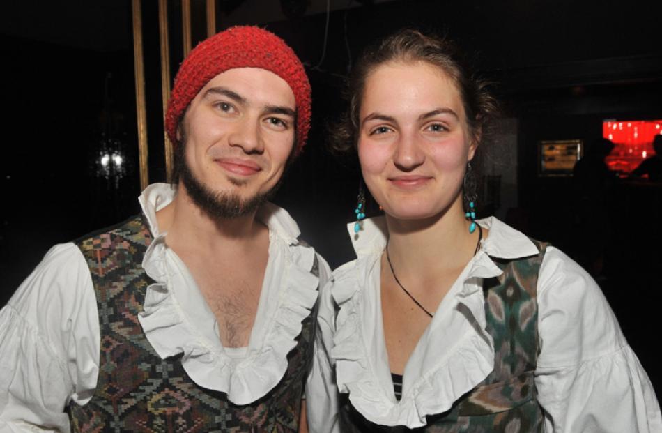 Tama Braithwaite-Westoby and Mariya Semenova, both of Dunedin.