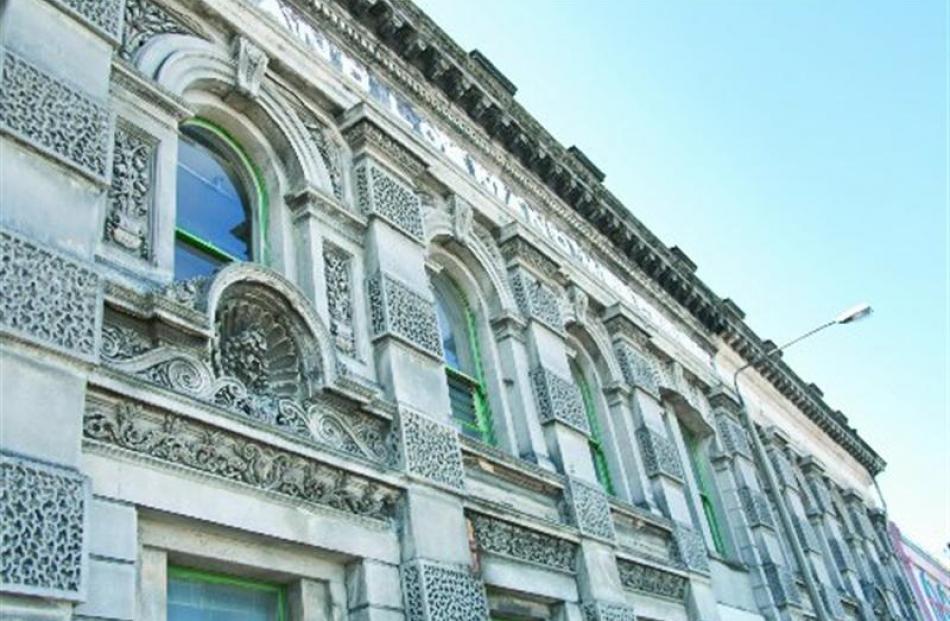 The New Zealand Loan and Mercantile Company Agency warehouse, Wharf St, Dunedin, is among dozens...