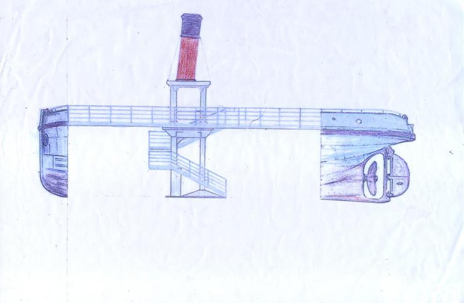 A proposed design for the resurrected stern. Image supplied.