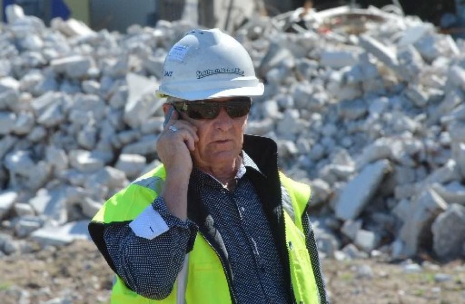 Southern Demolition director Alan Edge, of Christchurch.