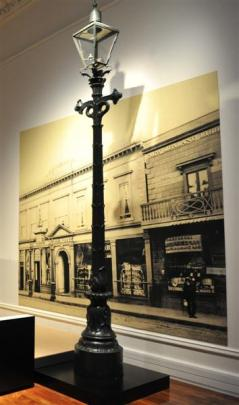 The 1862 Millar standard light in Toitu Otago Settlers Museum. Photo from ODT files.