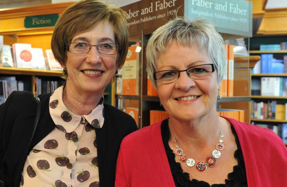 Judith and sister-in-law Debbie Vercoe, of Dunedin.
