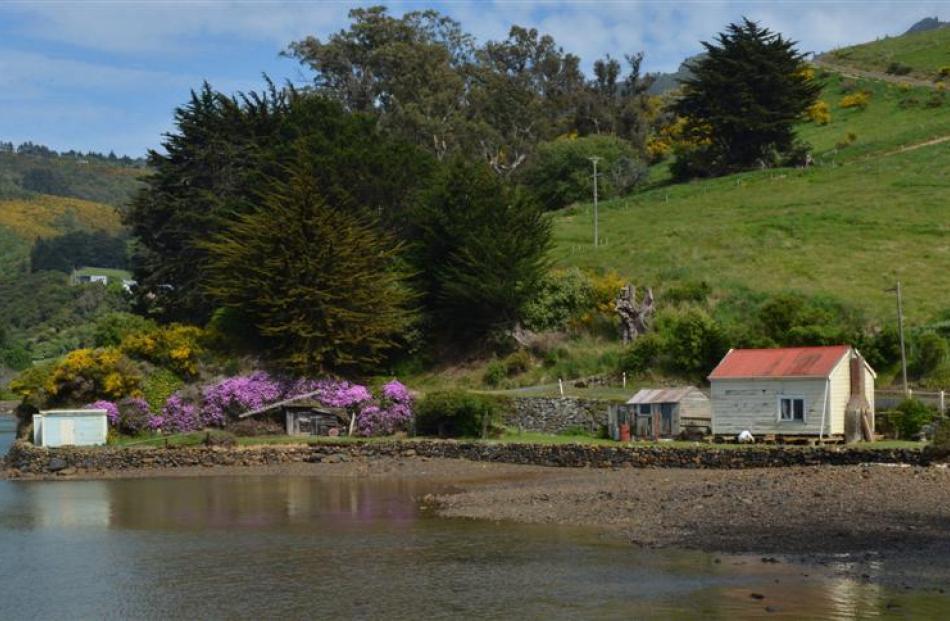 The house in Deborah Bay.