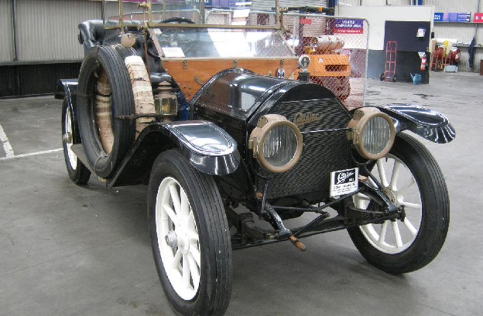 1911 Cadillac 30 Saloon, bought for $54,000, sold for $56,000.