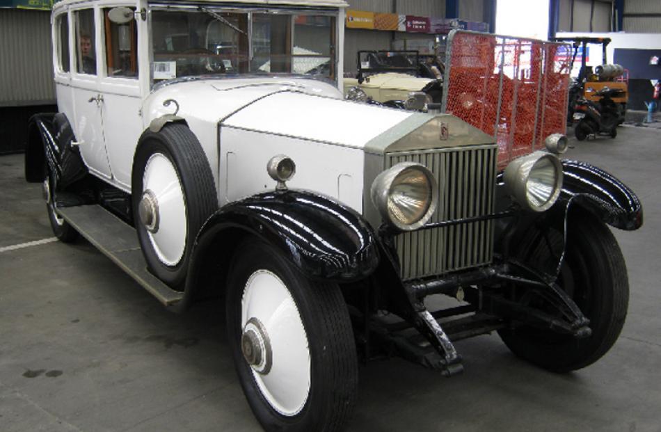 1925 Rolls Royce Phantom, bought for $110,000, sold for $63,000.