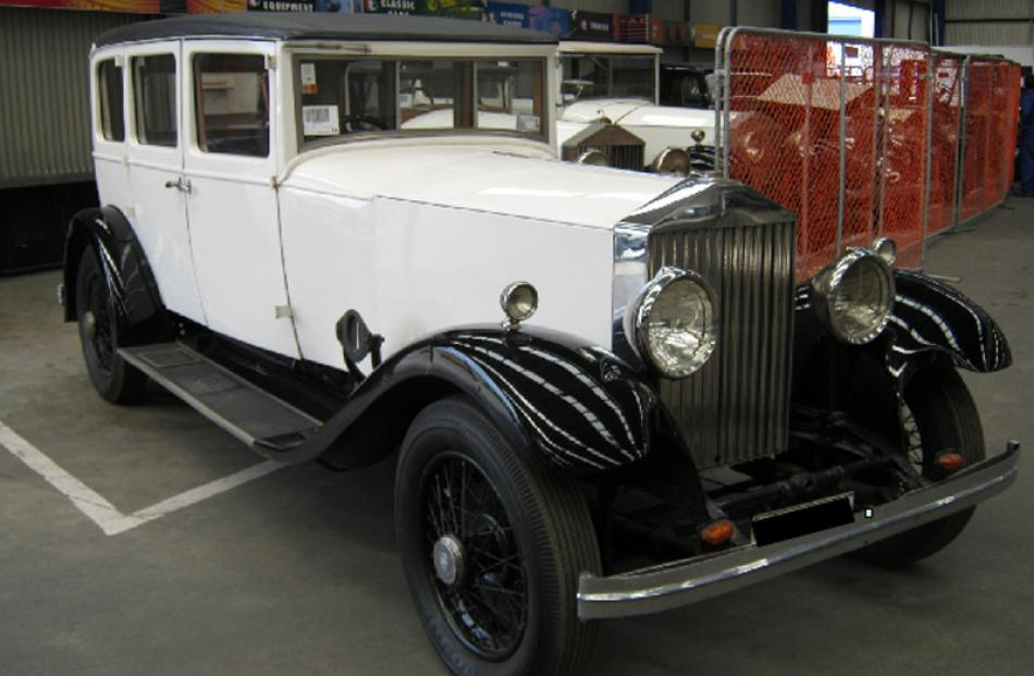 1933 Rolls-Royce 20/25 Saloon. Bought for $56,000, sold for $28,500.