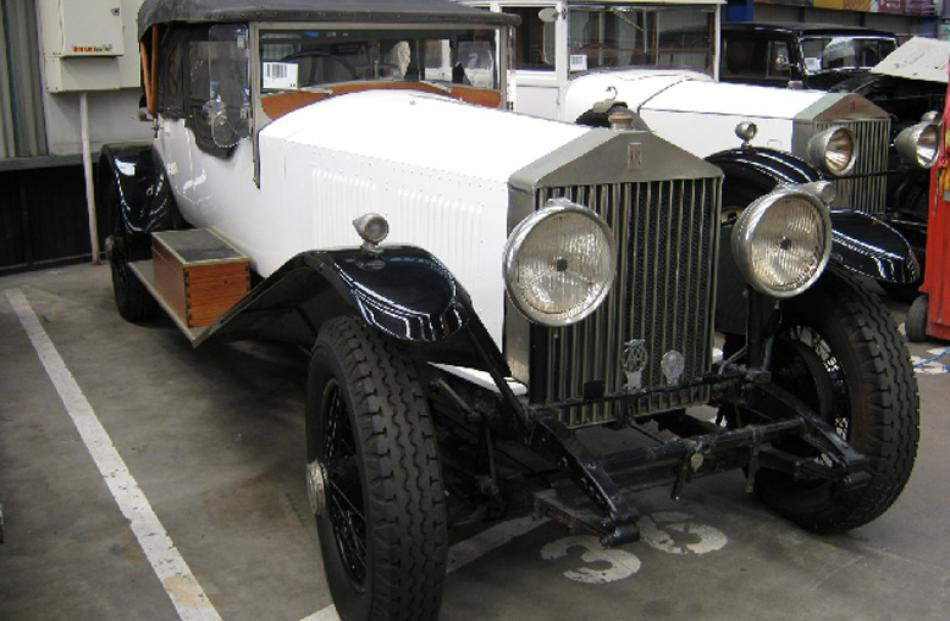 1929 Rolls Royce Phantom II. Bought for $160,000, sold for $140,000.