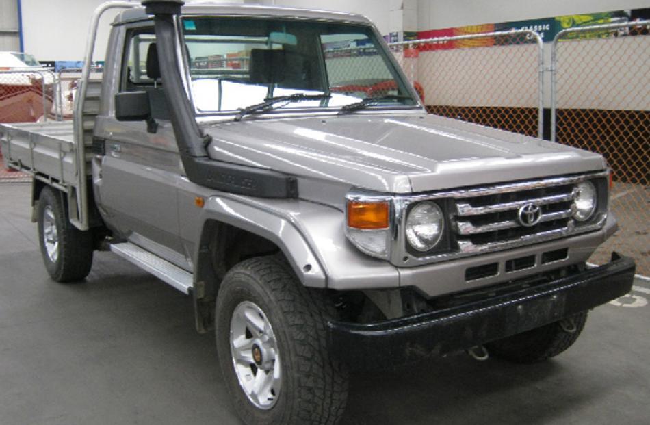 Toyota Landcruiser. Bought for $41,000, sold for $33,500.