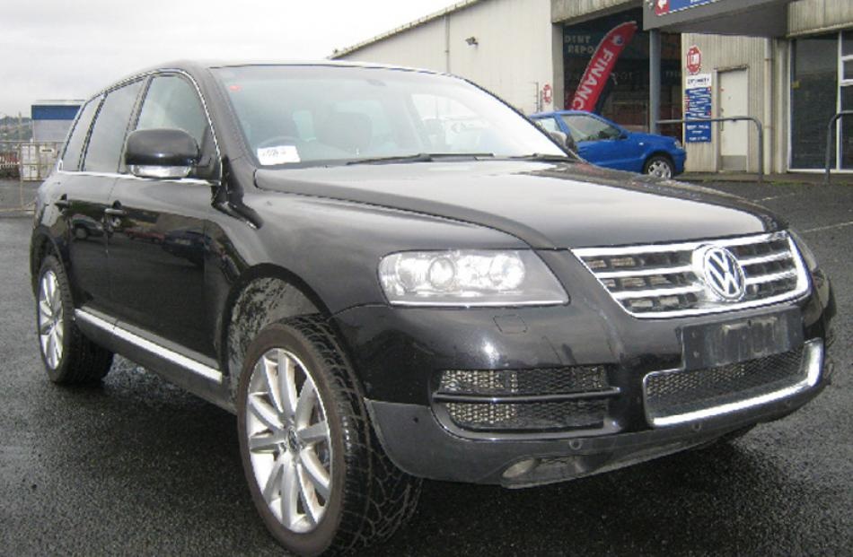2006 Volkswagon Touareg bought for $192,000, sold for $57,000.