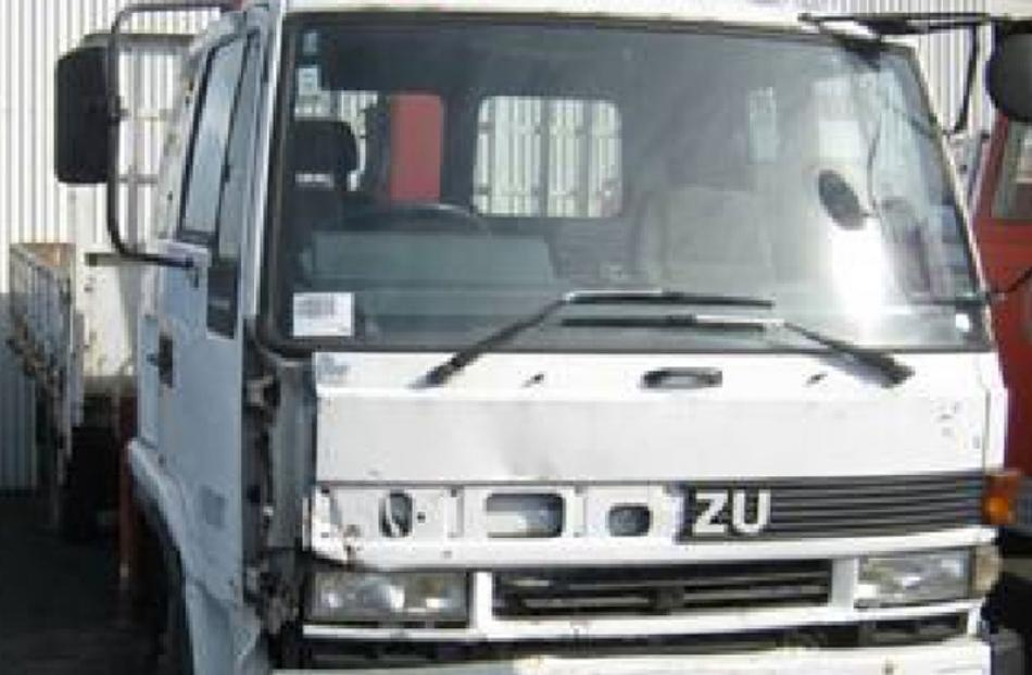 Isuzu truck, bought for $25,000, sold for $10,200.