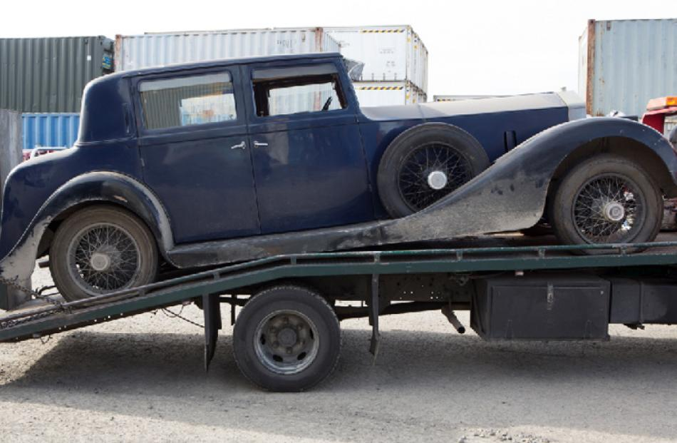 1922 Rolls Royce, bought for $160,000. Yet to be sold.