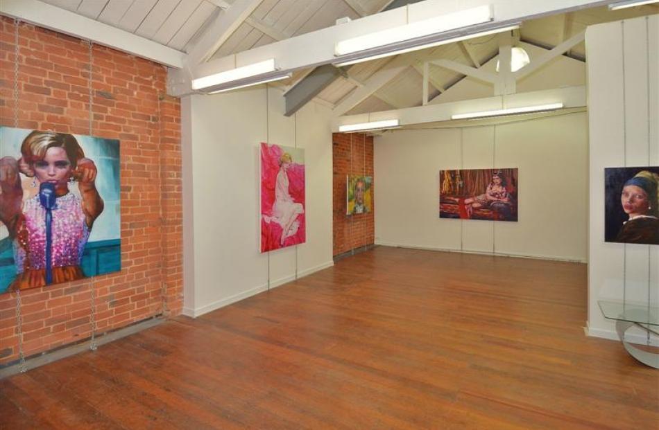 Brick Bros Gallery in Dowling St, Dunedin.  Photo supplied.