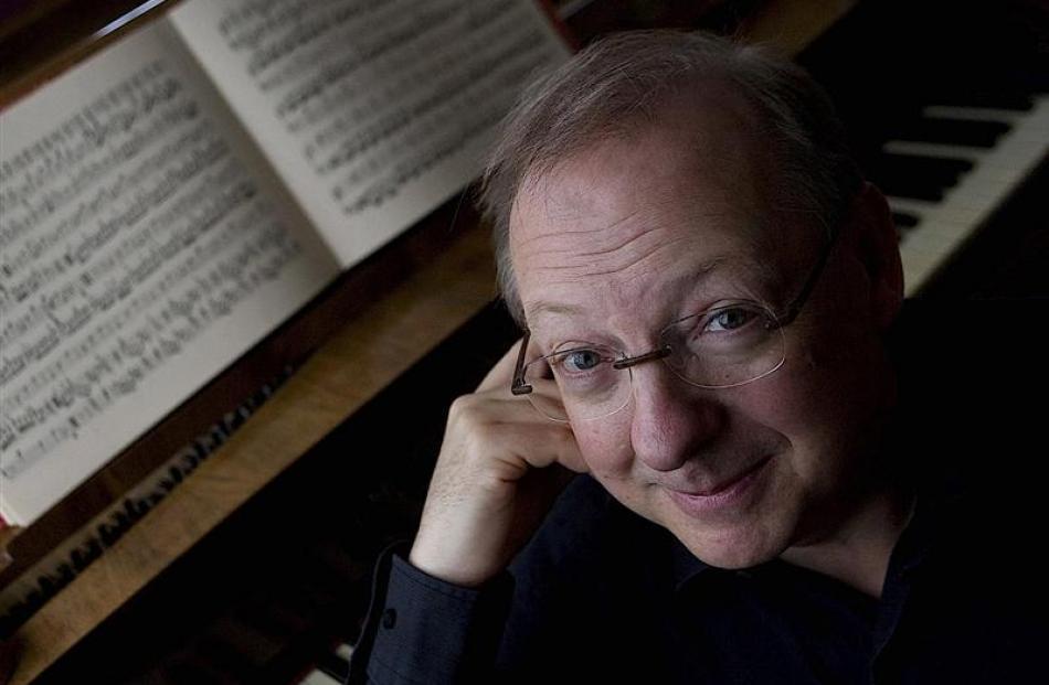 Baroque specialist Nicholas McGegan.