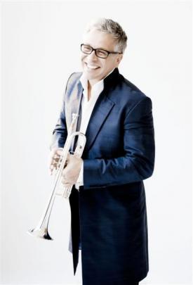 Trumpeter Hakan Hardenberger.
