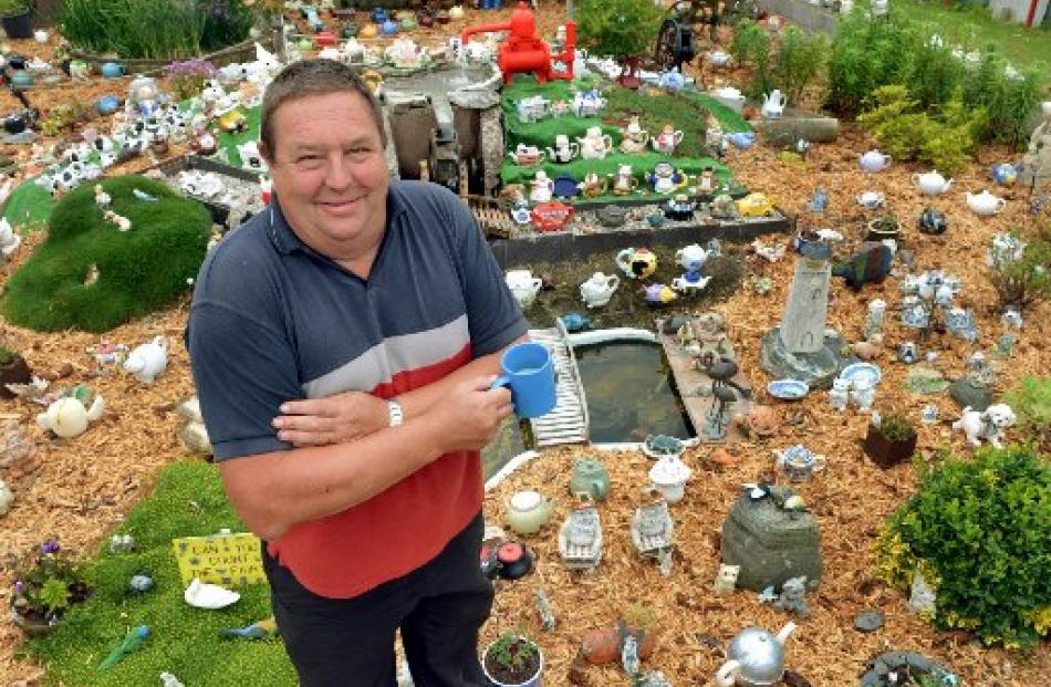 A bush walk in the Catlins; Graham Renwick with his teapot collection in Owaka.