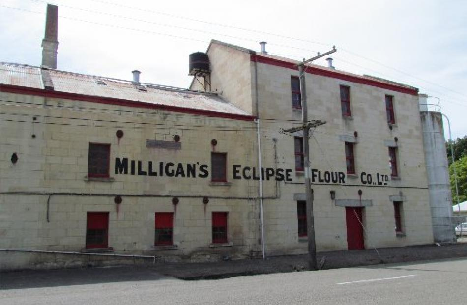 The Milligan's flour mill in Ngapara.
