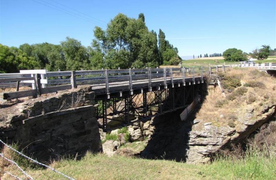 An old bridge at Chatto Creek is listed with the British Transport Museum because of the unique...