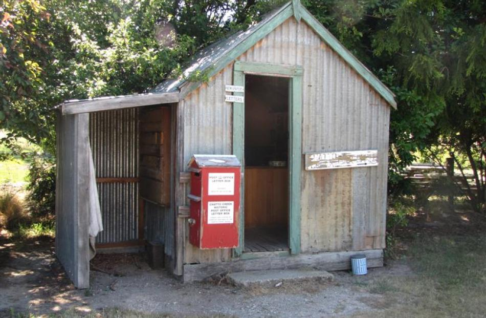 Chatto Creek's old post office, from which you can still post a letter, has been relocated and...