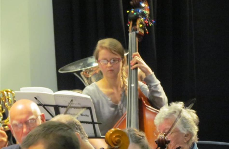 Melanie Ross, from Christchurch.