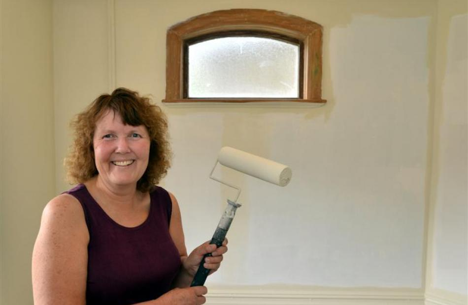 Landlady Hilary Jannink gives her Brook St student flat, which is being extensively refurbished,...