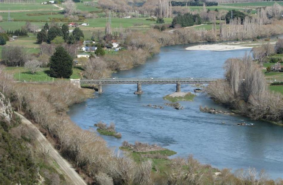 The Beaumont Bridge, spanning the Clutha River/Mata-au, was opened in 1887. Photo supplied.