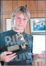 Representing intermediate winner Edendale was Josh Bee (12).