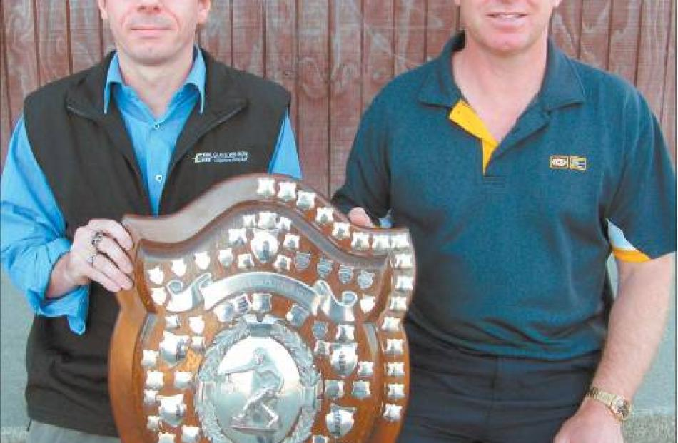 Winner of the Eastern Southland Competition Shield for senior tennis in 2007-08 was Citizens,...