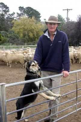 Maniototo farmer Johnny Duncan is positive about the future of the sheep industry. Photo by ODT.