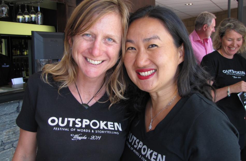 Liz Breslin of Hawea Flat, and Julia Le of Albert Town.