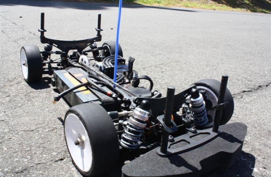 Many radio controlled car enthusiasts build their cars from scratch.