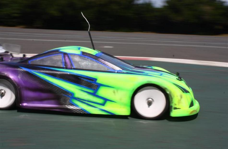 Some radio control car enthusiasts can spend thousands of dollars on their cars.