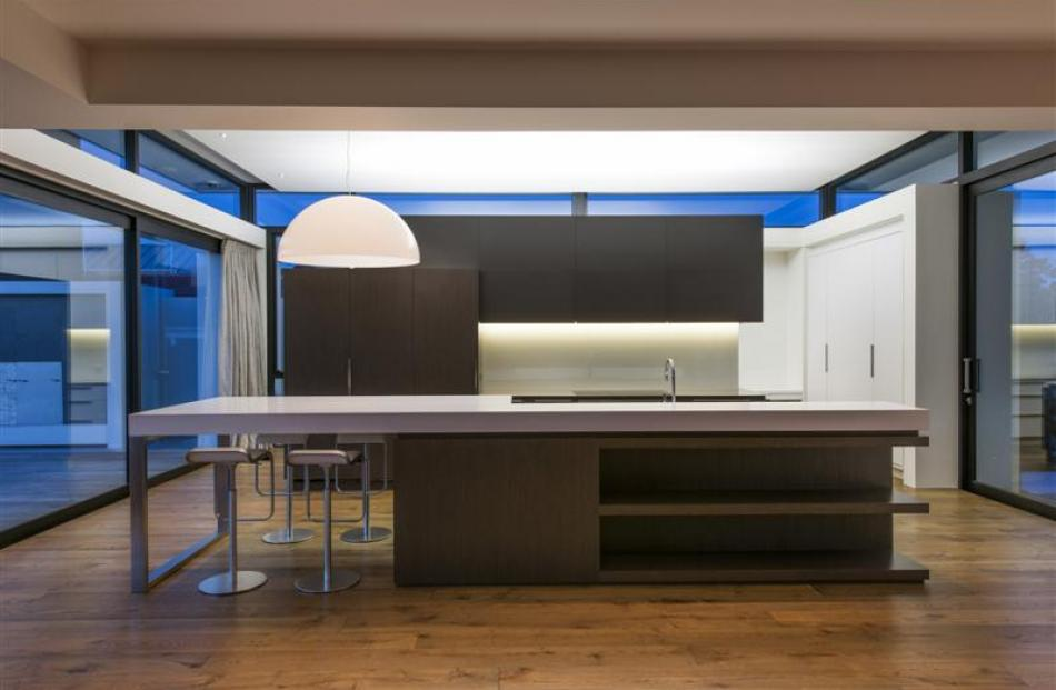Davinia Sutton, of Christchurch, won this year's kitchen of the year award with a design that...