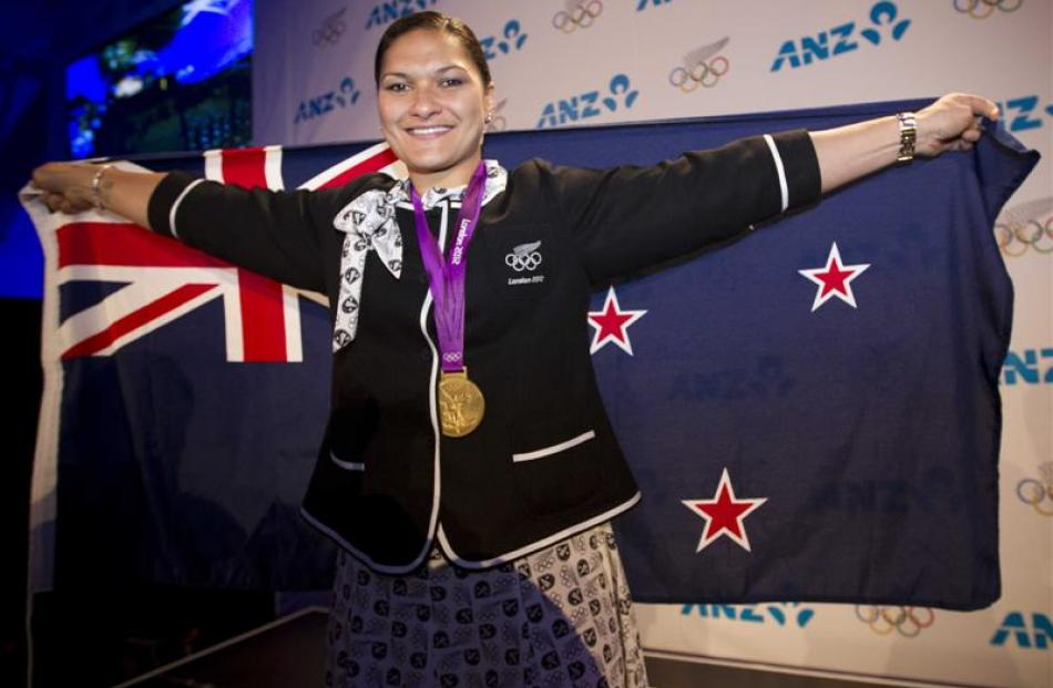 Golden girl Valerie Adams  is happy to be a heroine, and says one of her goals is to inspire...