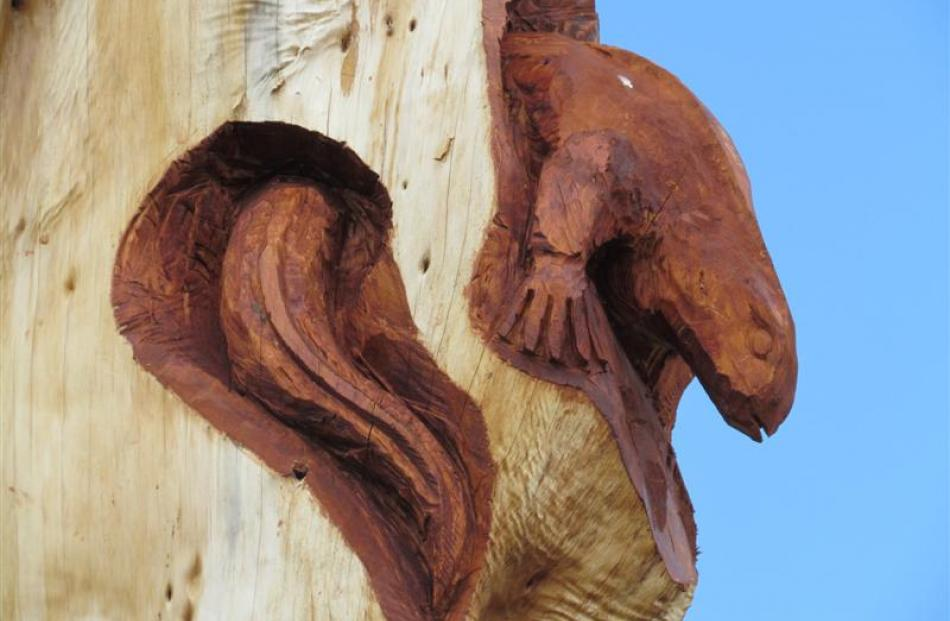 Stunning carvings playground legacy otago daily times