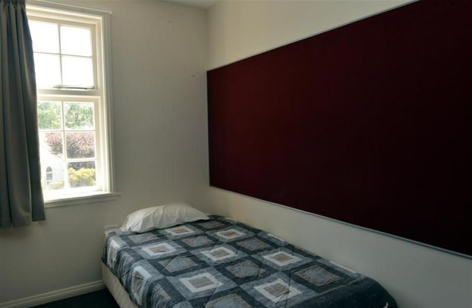 A newly refurbished bedroom.