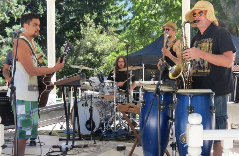 Five-piece Queenstown band Pass the Sauce set the Waitangi Day tone with their reggae-flavoured...