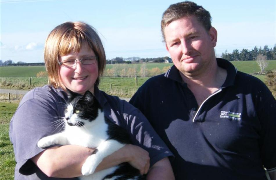 Mark and Megan Cordiner, of Otautau, are Southland/Otago finalists in the sharemilker/equity...