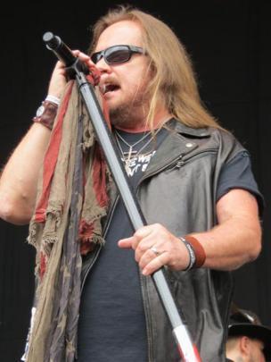 Lynyrd Skynyrd lead singer Johnny Van Zant.