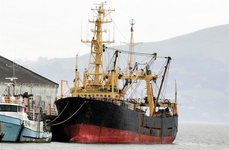Melilla 203, berthed at Rattray wharf.