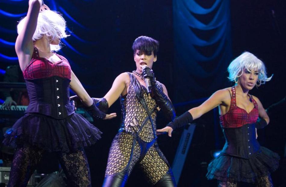 Rihanna and Chris Brown at Vector Arena | Otago Daily Times