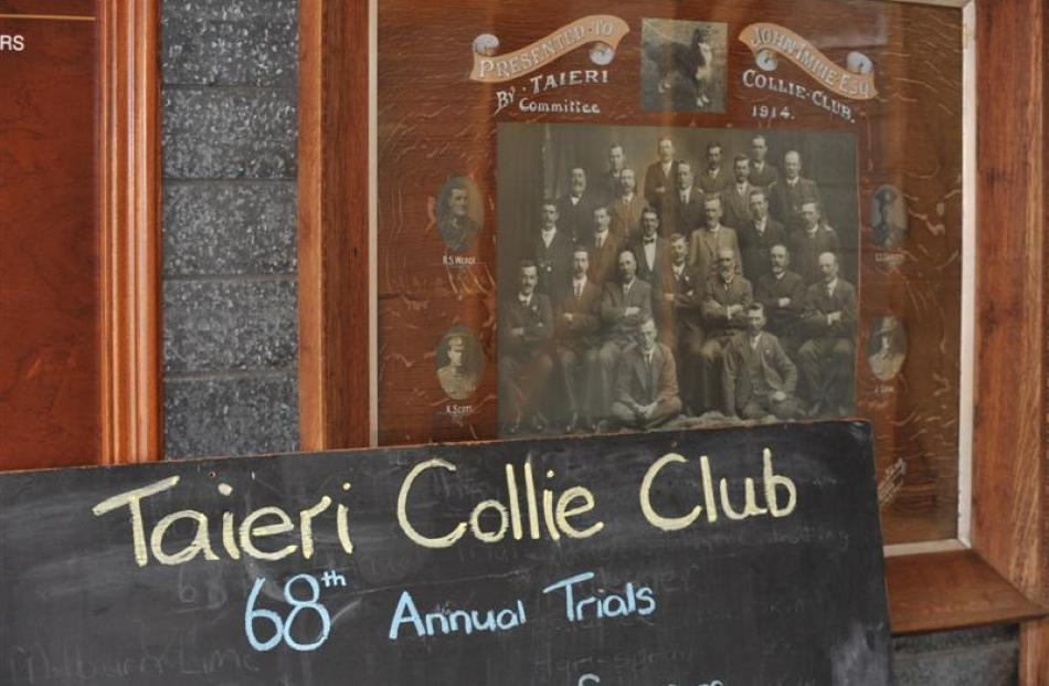 The Taieri Collie Club held its 68th annual trials at Lee Stream on Friday.