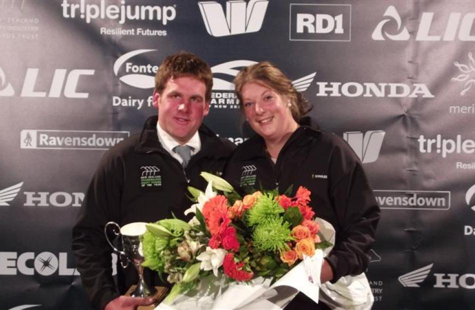 Newly married Winton couple Steve Henderson and Tracy Heale have won the 2014 Southland Otago...