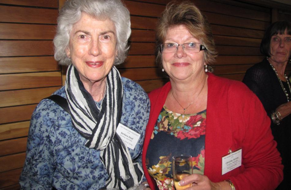 Barbara Rindt of Victoria, Australia, and Christine Stevens of Melbourne, Australia.