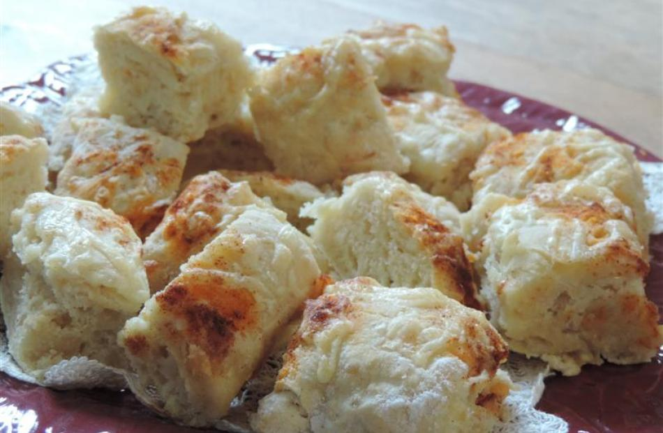 Charmian Smith's cheese scones.