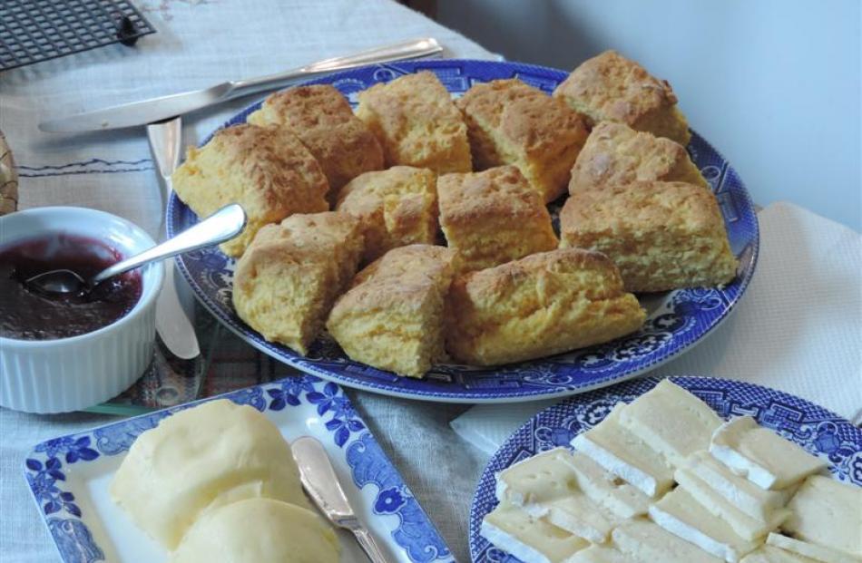 Granny Browne's pumpkin scones.