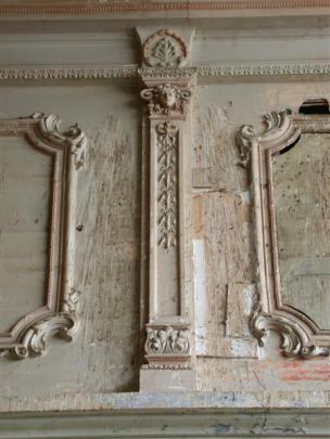 Ornate plaster work, an important historic feature, inside Quinn's Arcade. Photos by David Bruce.
