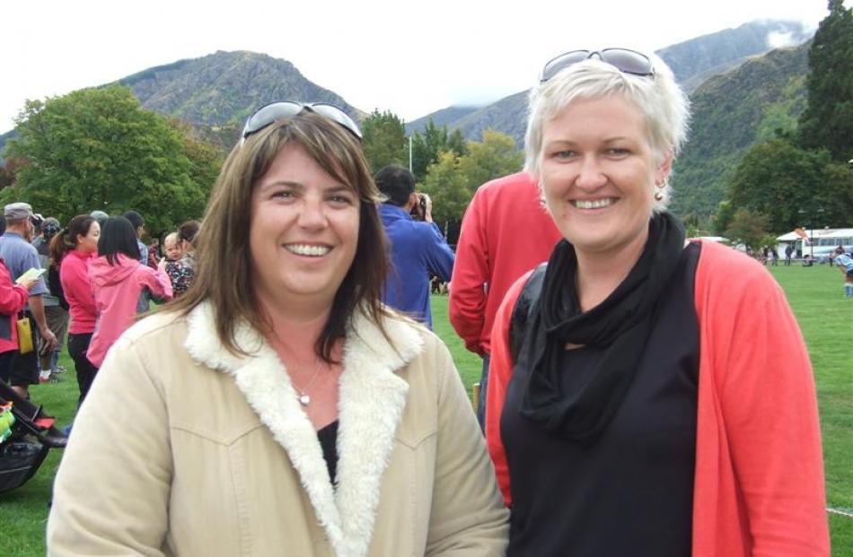 Rachael Marshall, of Roxburgh, and Nicole Mason, of Ettrick.